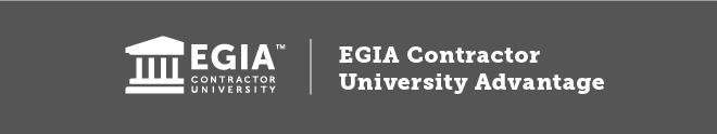 EGIA Contractor University Advantage